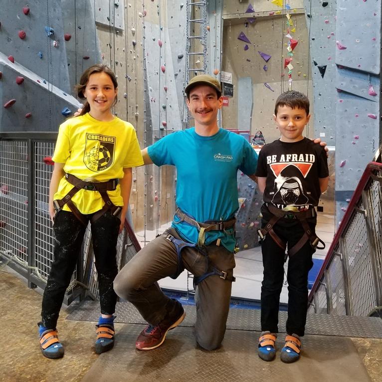 Nolan, with kiddos